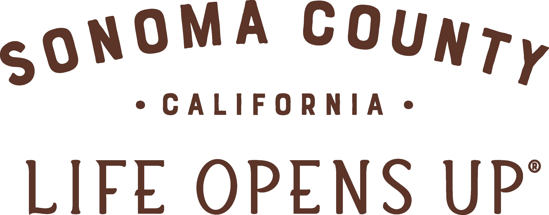 Sonoma County Tourism Life Opens Up logo
