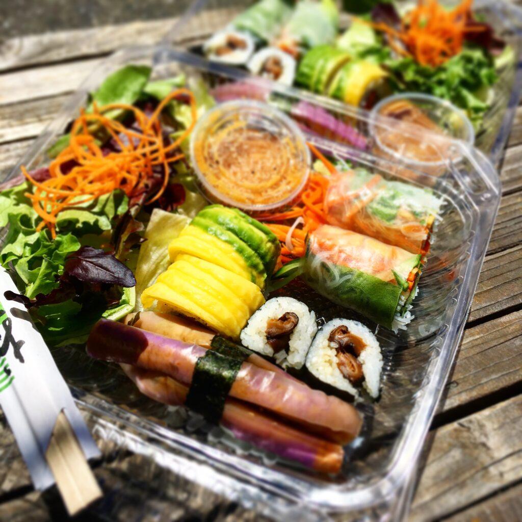 gourmet sushi take out