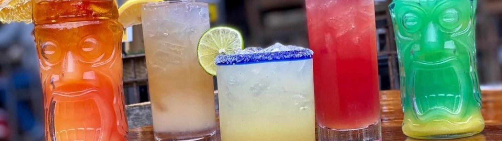 tiki specialty cocktails