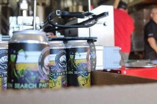 beer being canned
