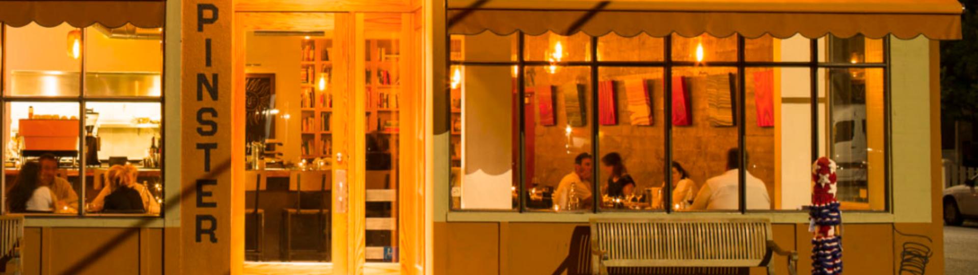 restaurant exterior, the spinster