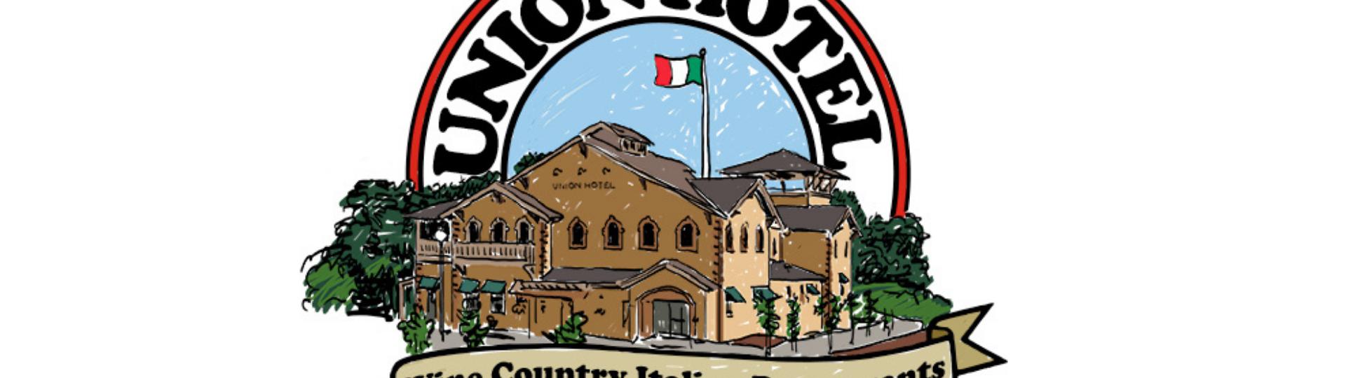 union hotel. wine country italian restaurants. established in occidental 1879
